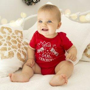 低至5折+额外最高8折My 1st Years 婴幼儿服饰、装饰品等促销 定制专属的圣诞用品