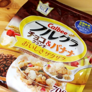 限时秒杀 $30.8/RMB211.7日亚 Cyber monday 年度大促 calbee 限定巧克曲奇味 麦片 700g×6袋