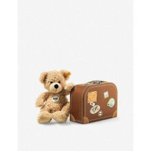 Steiff泰迪熊和旅行箱 28cm