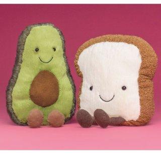 变相7.25折 寿司 面包片都能买 小飞龙补货即将截止:Jellycat 毛绒玩偶最高立减$275  有邦尼兔新色、水果系列