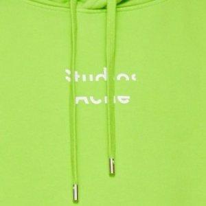 Emma同款荧光绿卫衣$505Acne Studios 全网断货款这里有 荧光绿正流行