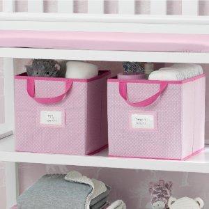 封面款收纳盒12个$23.20 (原价$49.99)Delta Children 儿童房收纳及家居产品热卖 最低$6.25