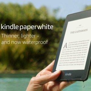 $199 赠送第三代Echo DotAmaozn官网 Kindle Paperwhite 8GB