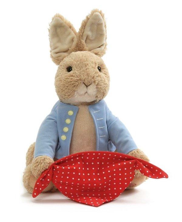 彼得兔毛绒玩具