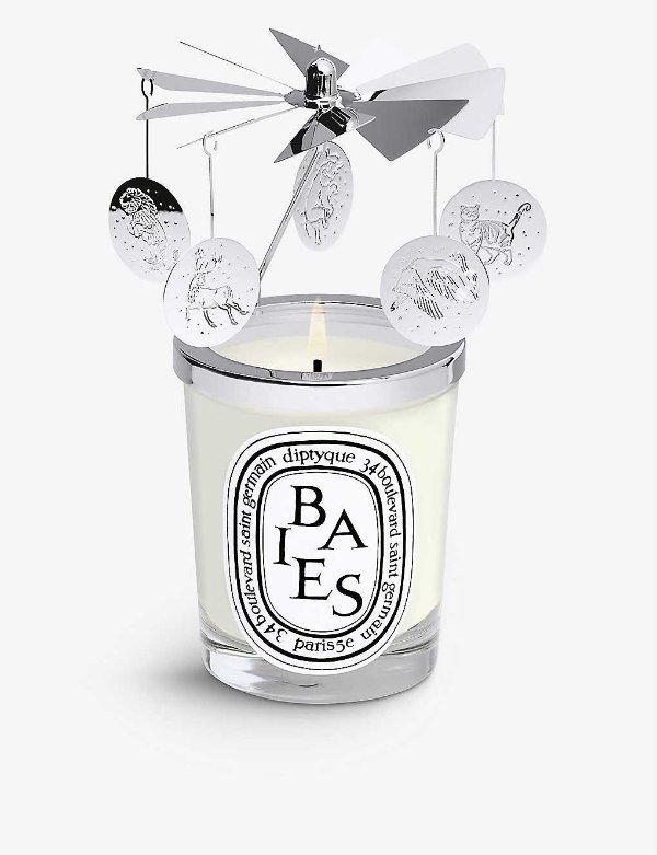大号走马灯+蜡烛Baies 190g