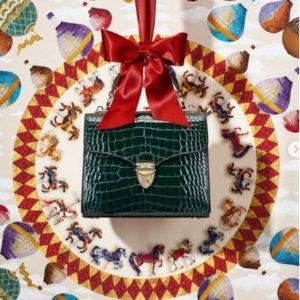 低至3折 £138收盒子包Aspinal of London 折扣区大促 凯特王妃亲选英伦美包