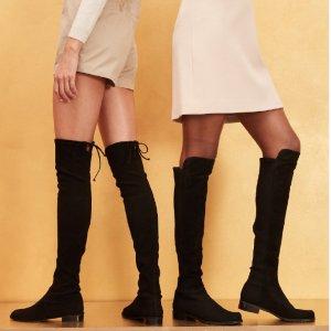 全场9折  £445收5050Stuart Weitzman 经典鞋靴热卖 get瘦腿神器
