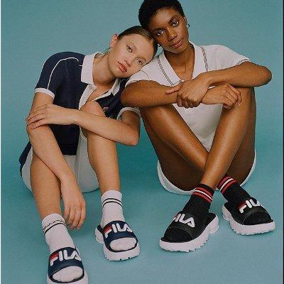 低至2折 £38收FILA老爹鞋NET-A-PORTER 美鞋专区限时好折 淘货好时机