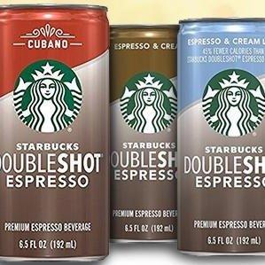 $12.11起 每罐低至$1星巴克 Doubleshot 浓缩咖啡 多种口味可选 12罐