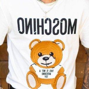 正价8.5折Moschino 可爱小熊系列享好价 收卫衣、T恤、链条包