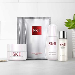 满额送价值超$135的3重豪礼SK-II 精选美容护肤品热卖 入神仙水超值套装