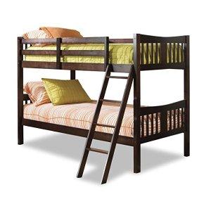 $179.88(原价$199.99)Stork 实木儿童上下床,可拆分