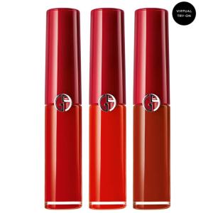 $85 满额送正装唇釉Armani 红管唇釉3件套 405、400热门色号一盒搞定