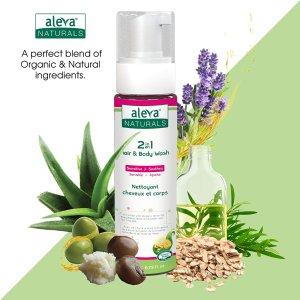 现价$7.67 (原价$8.99)Aleva Naturals 2 合1 婴幼儿洗发沐浴露 200ml