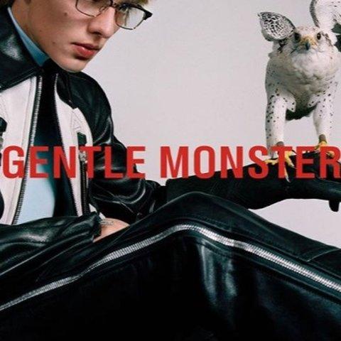 新款上新 £240收粉嫩猫耳太阳镜Gentle Monster 野兽来袭 潮流太阳镜你值得拥有