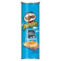 Pringles 盐和醋口味薯片 5.26盎司 三罐