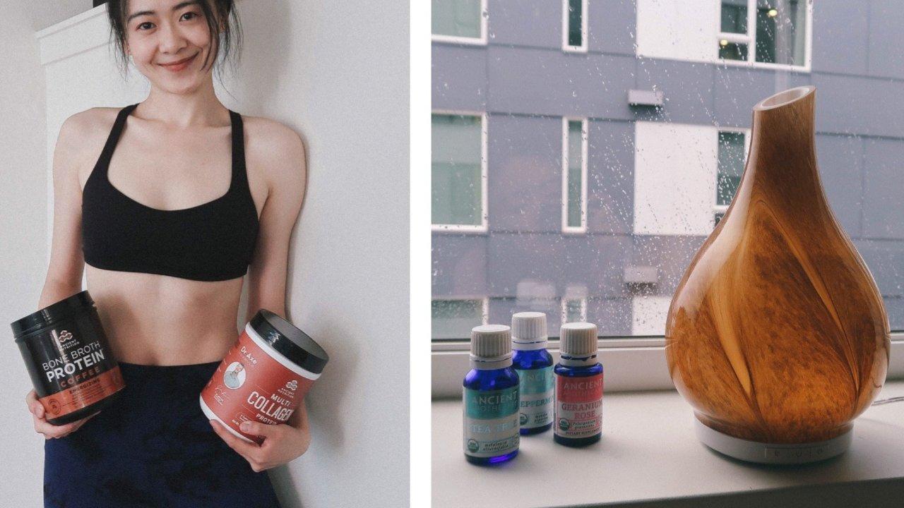 我的营养补给品 | 吃什么帮助皮肤变好 | Dr. Axe产品体验