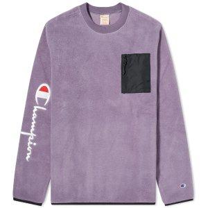 Champion 香芋紫卫衣