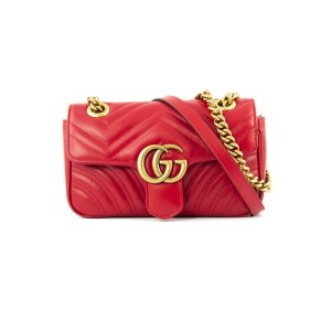 GucciGg Marmont  红色