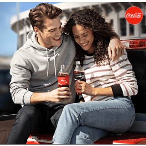 Free w/ Coca-Cola AccountEnter 35 Coke Codes, Get 2 AMC Movie Tickets + Large Popcorn + 2 Fountain Drinks