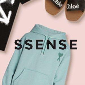 无门槛8.5折+包邮+包退SSENSE 超值热卖,MCQ厚底鞋补货$250,Ami桃心新款上架