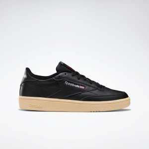 ReebokClub C 85 黑色运动鞋