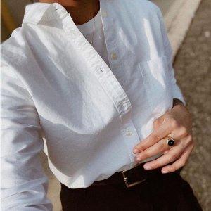 $50起 网红性冷淡风Everlane 精选纯棉衬衣上新热卖 将简约进行到底