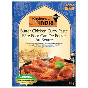 $9.01 + Free ShippingKitchens of India Paste, Butter Chicken Curry, 3.5-Ounces (Pack of 6)