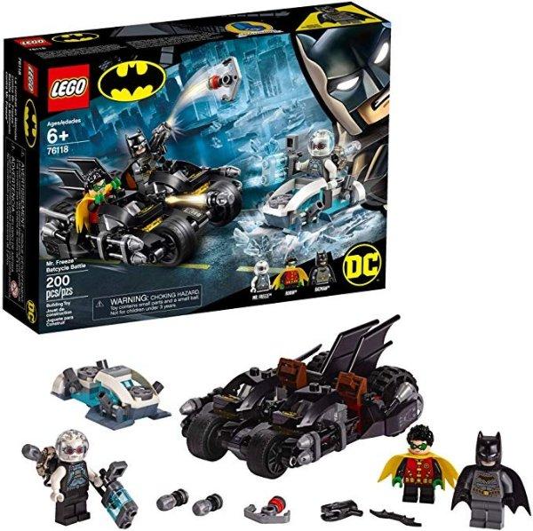 DC Batman 蝙蝠侠大战急冻人 76118