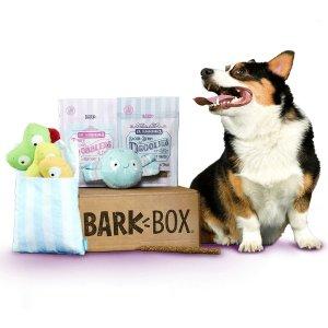 每月可免费多一个玩具最后一天:Barkbox 狗狗神秘订阅礼盒 为你家汪汪准备的专属礼物盒