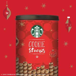 $6.98 独立包装上新:Starbucks 节日限定巧克力卷 20支装