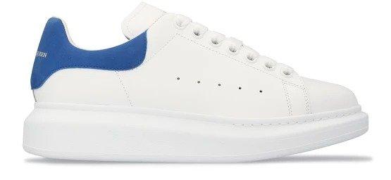 牛仔蓝尾小白鞋