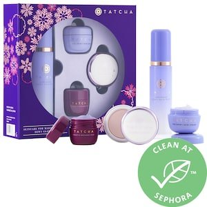 Skincare for Makeup Lovers: Dewy Glow Set - Tatcha | Sephora