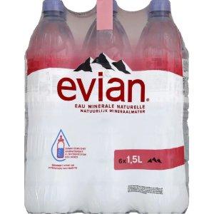 Evian第2件半价矿泉水