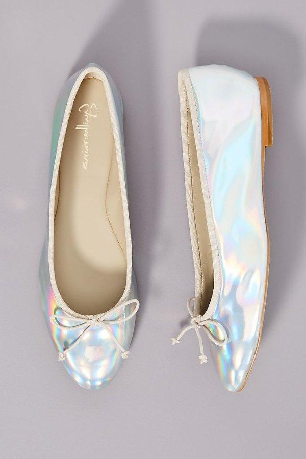 镭射芭蕾鞋