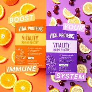 $29Vital Proteins 提高免疫力配方 新产品上线