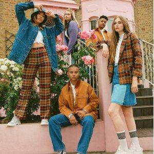 £15起+折扣区持续进行中  £30收拼接牛仔裙Monki 全新多彩牛仔系列上市 五颜六色装点你的早秋穿搭