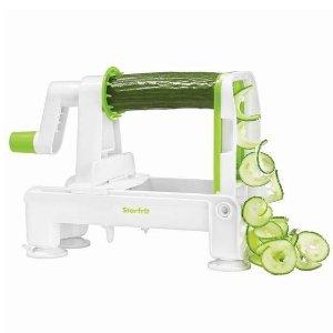 $15(原价$29.99)Starfrit 可折叠蔬果切丝切片机 切菜神器 配有3种刀头