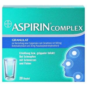 Bayer每包仅€0.51!ASPIRIN COMPLEX 阿司匹林冲剂 20包