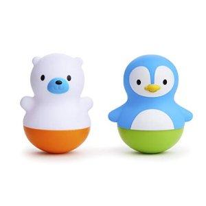 低至$2.99 封面款补货降价Munchkin 婴幼儿奶瓶、餐具、浴室玩具等特卖