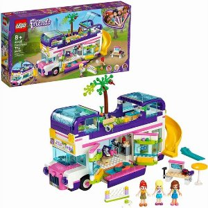 $69.98(原价$99.86)史低价:LEGO 乐高 41395 好朋友系列 友谊巴士 共778颗粒
