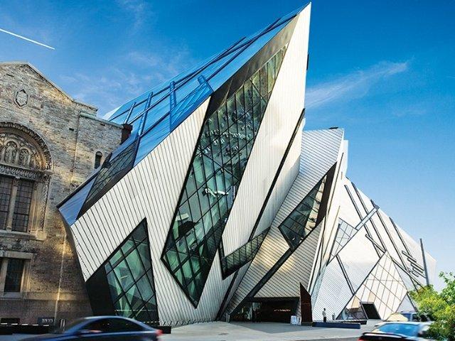 安大略美术馆和皇家安大略博物馆,在...