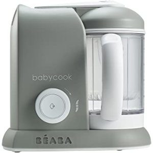 Amazon.com : BEABA Babycook 4 in 1 Steam Cooker & Blender and Dishwasher Safe, 4.5 Cups, Cloud : Baby