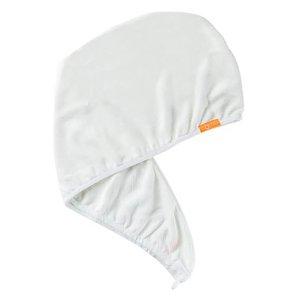 Aquis单色奢华款干发帽 白色