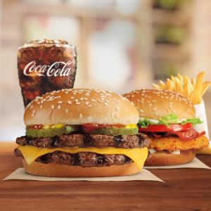皇堡、鸡排堡、培根可颂可选Burger King 回答超简单小问题领免费汉堡限时活动 每天可领