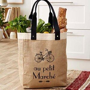 $19.99 (原价$28)Simons 重复使用法语字母购物袋 买菜也有时髦感