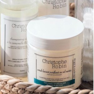 25% Off  Buy 2+Extra 9% Off+GWPChristophe Robin Haircare Hot Sale