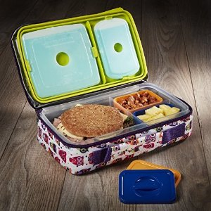 Fit & Fresh儿童饭盒+午餐包+冰盒套装