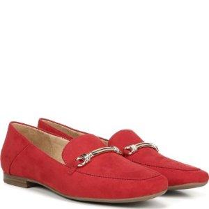 NaturalizerKari 红色乐福鞋