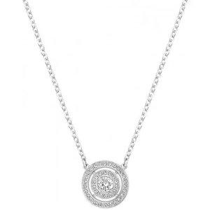 SwarovskiAttract Dual Light Silver One Size Pendant Necklace 5142719